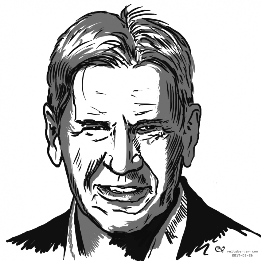 Harrison Ford par veitsberger